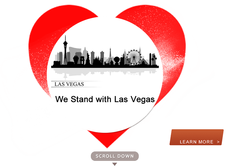 We Stand with Las Vegas