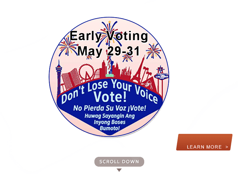 Early Voting - Primary 2018