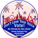 Early Vote for Primary Election 2018 circle logo - smallest