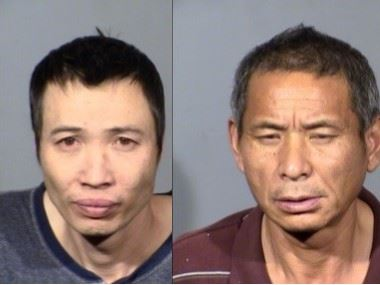 Suspects in Illegal Marijuana Grow Operation