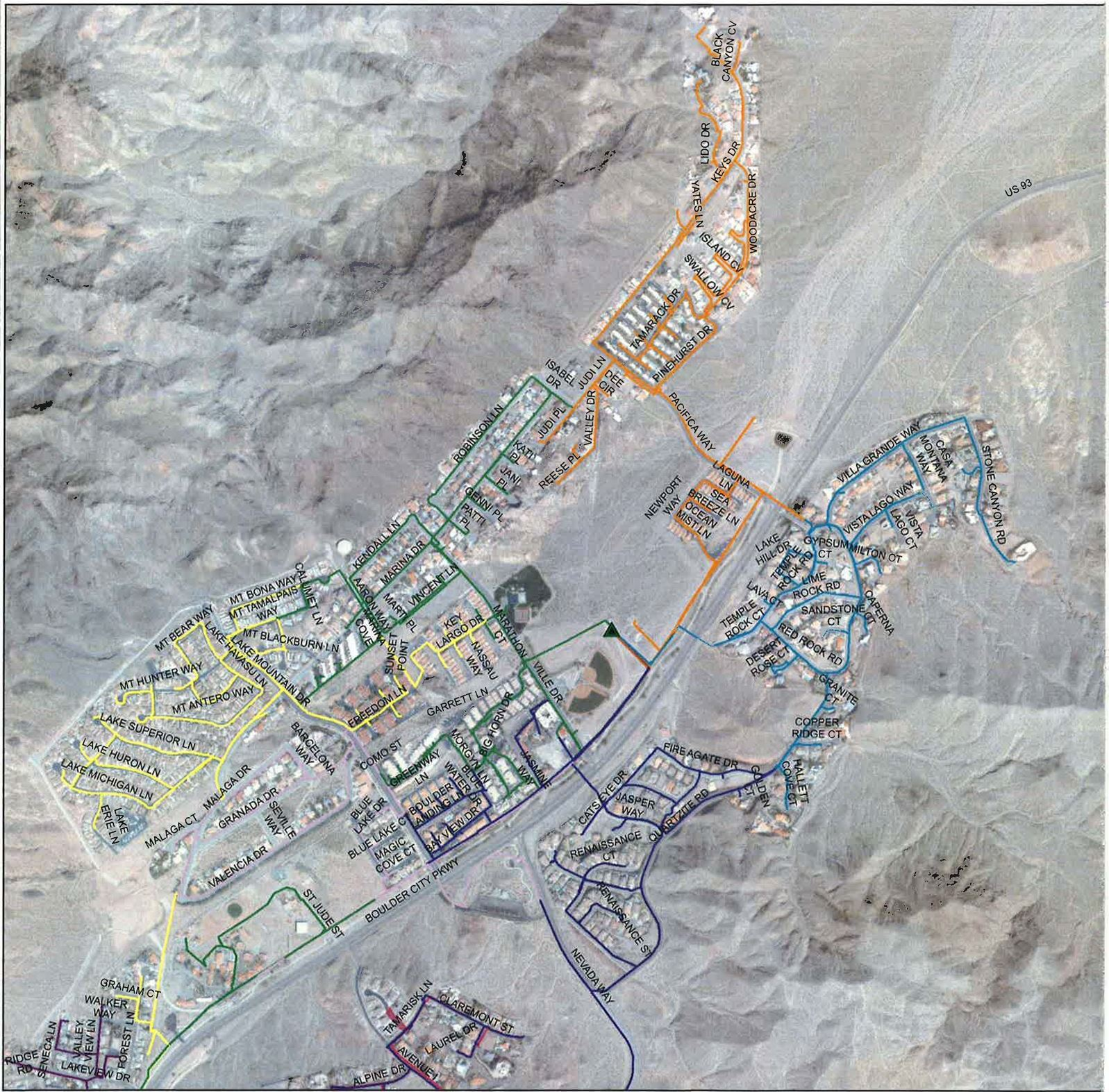 Map - Substation 6 for July 2020