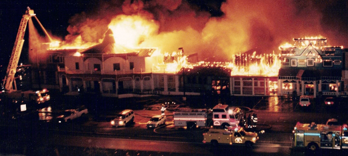 Goldstrike Hotel and Casino fire in 1997